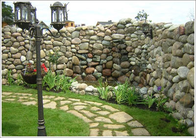 Использование натурального камня в ландшафтном дизайне