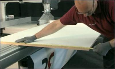 Обработка поверхностей древесно-стружечных плит