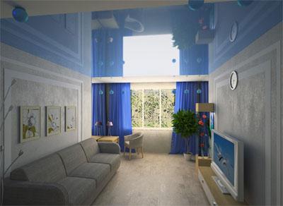 Обставляем длинную узкую комнату