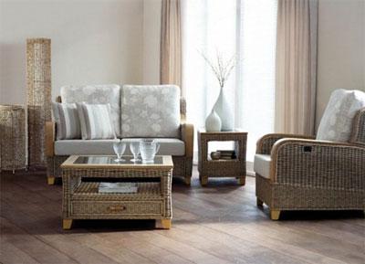 Плетеная оригинальная мебель из ротанга