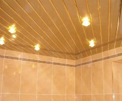 Поговорим о реечных потолках