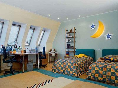 Правила оформления детской комнаты для двоих детей