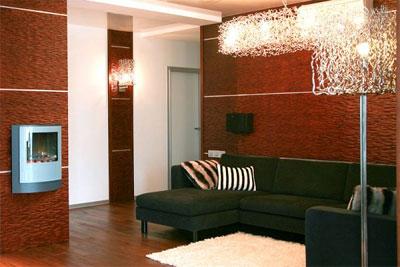 Разновидности декоративных панелей для стен