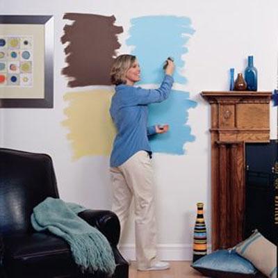Выбор цветов для интерьера комнаты