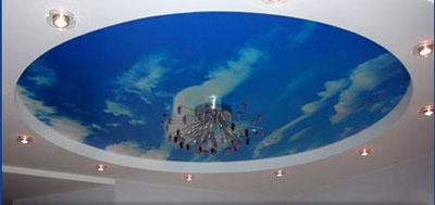 Выбор цветовой гаммы и текстуры натяжного потолка