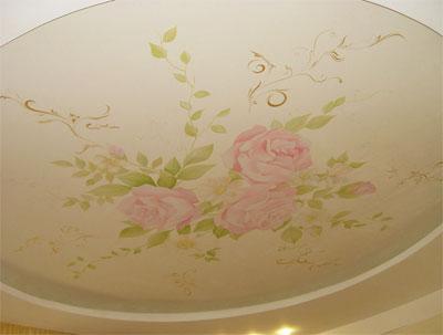 Качественный декор на потолке творит чудеса