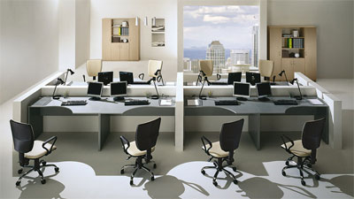 Мебель для офиса: правильная организация работы за компьютером