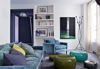 Цветная мебель? Попробуйте!