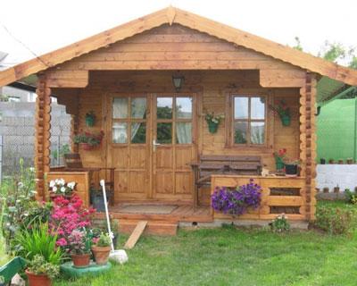 Дачные домики из бруса порадуют своих владельцев неповторимым дизайном!