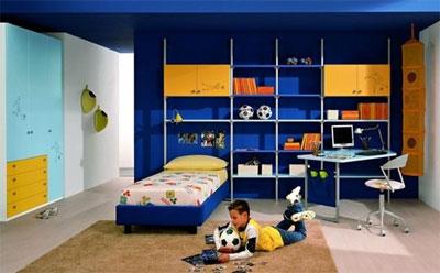 Как обустроить комнату для мальчика?