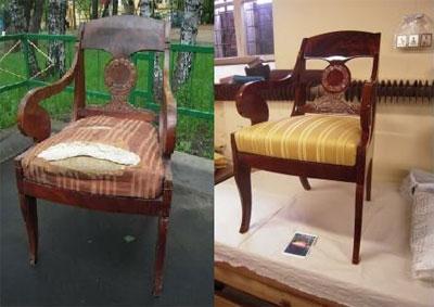 Реставрация мебели – это ювелирная работа.