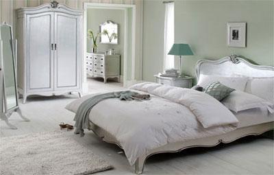 Интерьер спальни в традиционном французском стиле