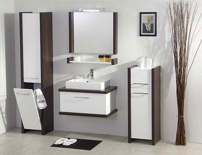 Выбор мебели для маленькой ванной