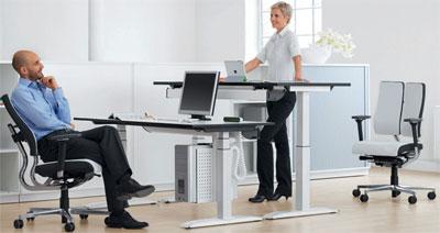 Эргономичный офисный стол – гарантия плодотворной работы
