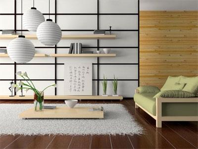 Создание интерьера в японском стиле