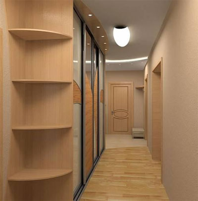 Рациональное использование пространства коридора в хрущевке
