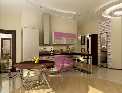 Как правильно разбить пространство кухни на зоны?