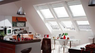 Какие должны быть окна в мансарде?