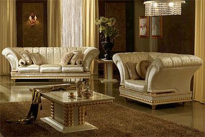 Мебель из Италии для гостиных комнат