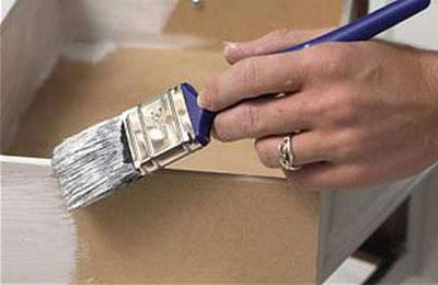 Подготовка мебели к покраске