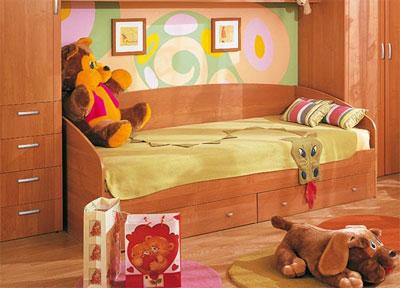 Трансформирующиеся и обычные детские кровати