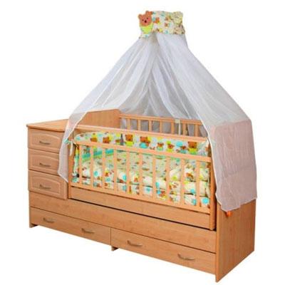 Выбор детской кровати. Кровать с маятником