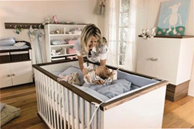 Выбор места для детской кроватки