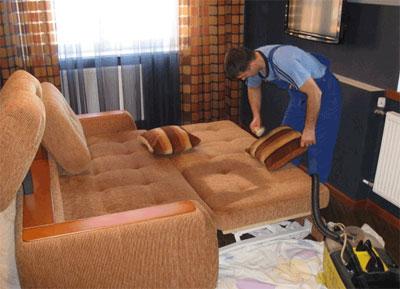 Химчистка диванов и другой мягкой мебели на дому у клиента