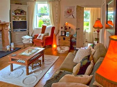 Домашняя атмосфера стиля кантри