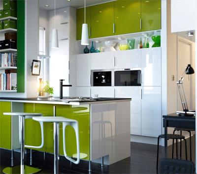 Удачные дизайнерские решения для небольшой кухни