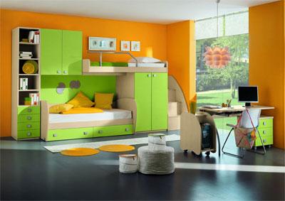 Основные принципы выбора мебели для детской комнаты