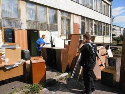 Потребность в утилизации мебели