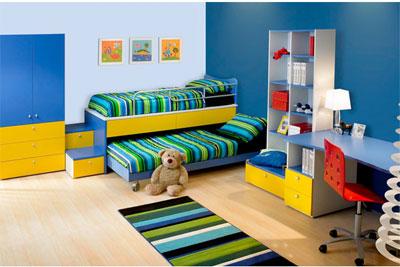 Основные правила обустройства детской комнаты