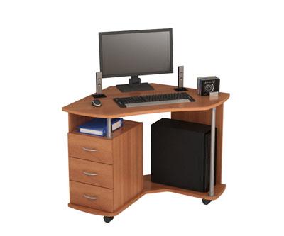 Преимущества малогабаритных компьютерных столов