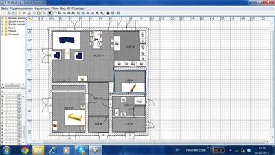 Проектируем дизайн интерьера