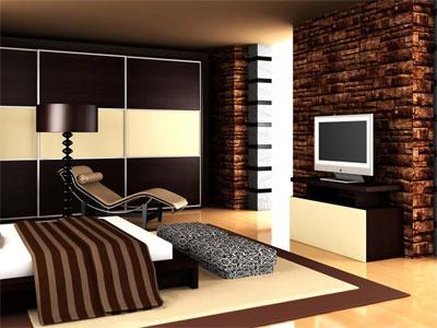 Создаем интерьер спальной комнаты
