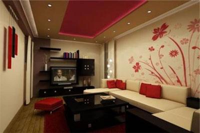 Создание интерьера гостиной в восточном стиле