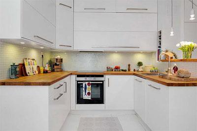 Стильные кухни для небольших квартир