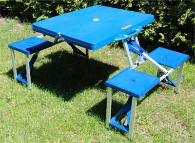 Выбираем уютный столик для пикника