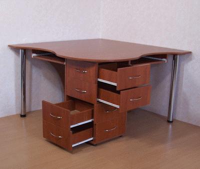 Двухместный рабочий стол