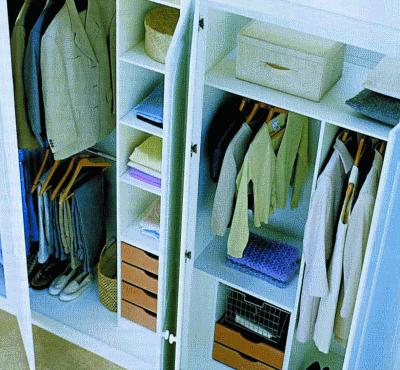 Гардеробная коробка, или коробка-шкаф