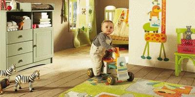 Комната ребенка. Игрушки в интерьере