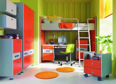 Как выбрать мебель для маленькой детской?