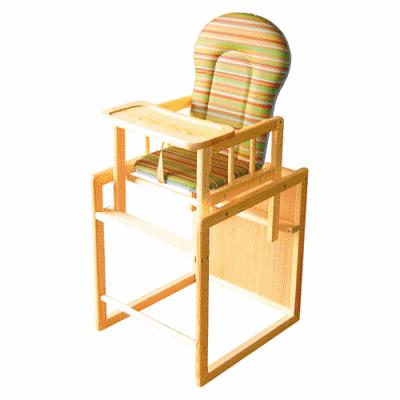 Мебель с первых дней жизни: стульчик для кормления
