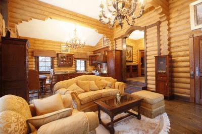 Мебель в загородный дом отличается своей прочностью и надежностью