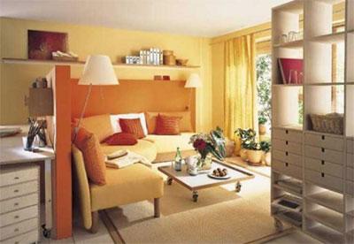 Принципы обустройства маленькой гостиной