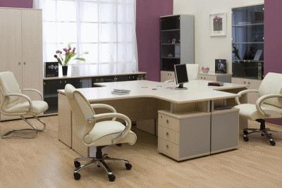 Обустройство офисного помещения мебелью