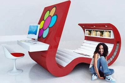 Оригинальная кровать – компьютерная кровать
