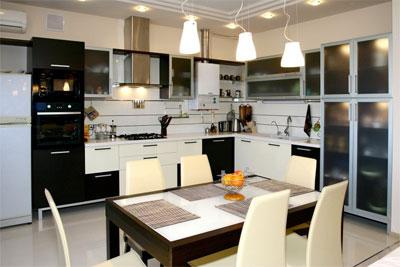 Освещение для современной кухни
