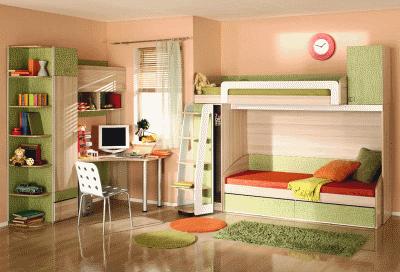 Основные требования при выборе детской мебели
